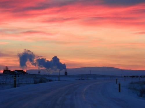 Może Edvard Munch też był na Islandii...