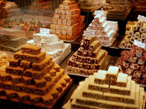 pyszne i obłędnie słodkie tureckie słodycze